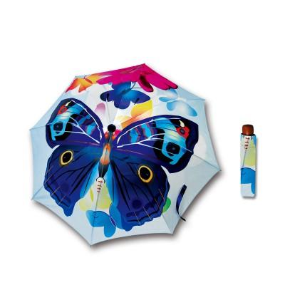 FLOWER  D300 BLUE  BUTTERFLY